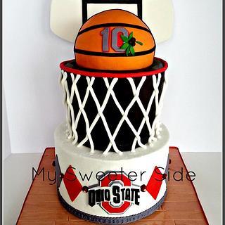 Icing Smiles OSU basketball cake