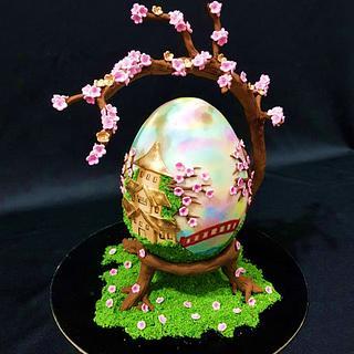 Cherry Blossom - Huevos de Pascua Estilo Faberge Challenge 2018