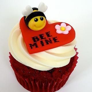 Bee Mine Cupcakes