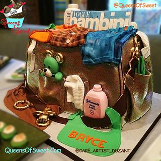 Fashionable Baby Bag - Cake by Duzant