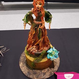 Morana Slavic Goddess - Cake by DomiCakesArt