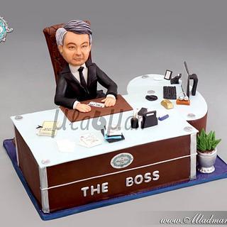 The Boss Birthday Cake