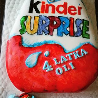 Kinder Surprise - Cake by Sweets by Marta