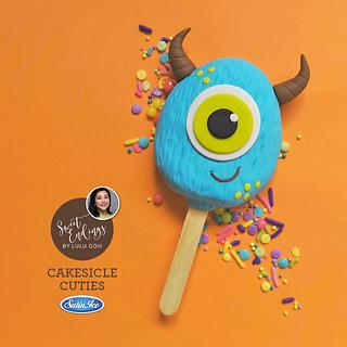 Blue Monster Cakesicle