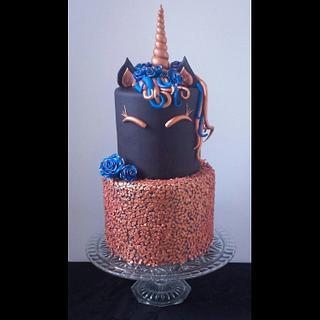 Unicorn Cake  - Cake by Jenn Szebeledy  ( Cakeartbyjenn_ )