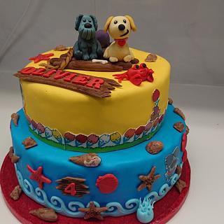 Doggie cake - Cake by Stertaarten (Star Cakes)