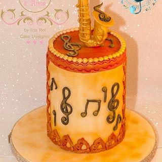 Saxofone- Music Around the World- Cake Notes 2017