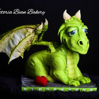 Pete's Dragon-Armature Cakes - Cake by VictoriaBean