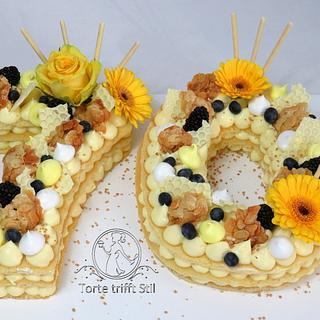 Number Cake - Cake by torte trifft stil