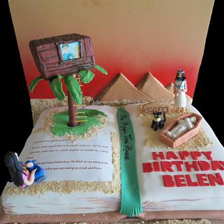 The Magic  Tree House: Mummies in the Morning - Cake by Maty Sweet's Designs