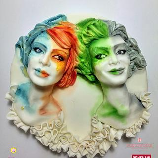 The 4 Elements - Cake by Fashflower's cake by Margherita Ferrara