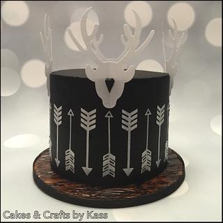 Modern Hunters Cake