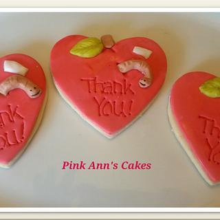 teacher appreciation cookies!