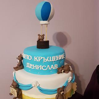 Baptism cake - Cake by Kamelia