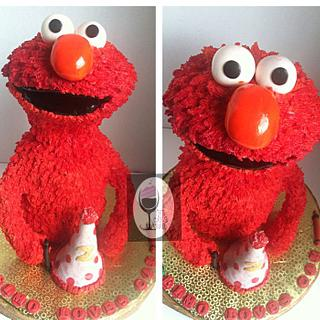 3D Elmo! - Cake by TheCakeBar