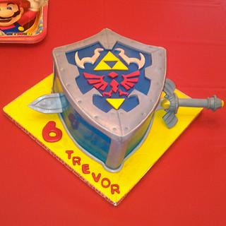 Trevor's special Legend of Zelda cake - Cake by Bonnie