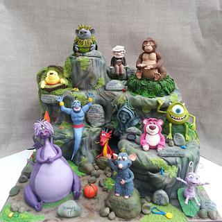 Disney Pixar cake fest, Cake International entry