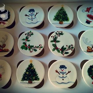 Christmas Cupcakes  - Cake by Alina