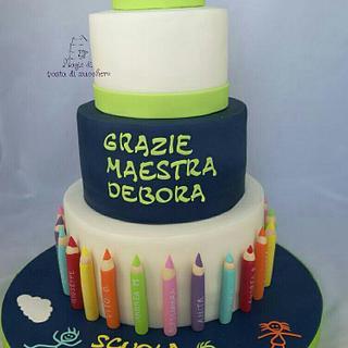 End school cake