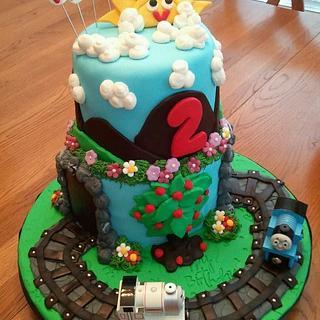 Thomas The Train Cake - Cake by Tammy