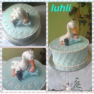 Stork - Cake by luhli