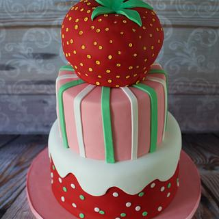Strawberry Shortcake - Cake by Hello, Sugar!