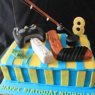 Favourite Activities Birthday cake