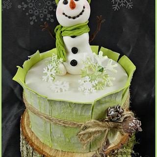 Frosty  - Cake by Sandy's Cakes - Torten mit Flair