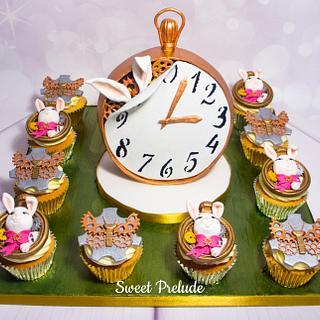 Award winning  cupcake board from Sweet Prelude