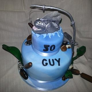 Fishing  - Cake by Carole's Cakes