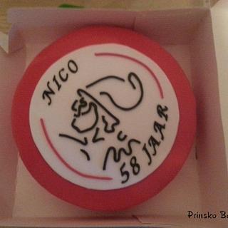 Ajax (Dutch soccerclub) cake