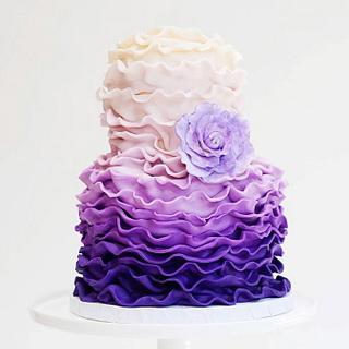 purple ruffles by Mili