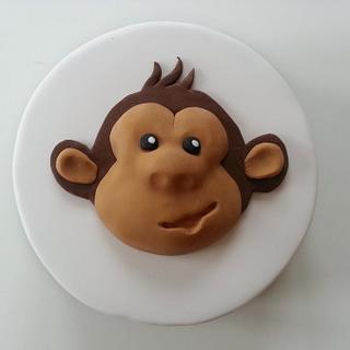 Monkey cake - Cake by Rachel Nickson