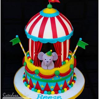 Step right up! Circus Cake