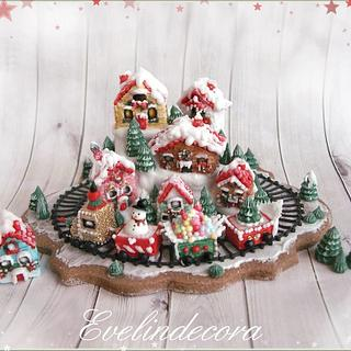 Christmas wonderland cookie