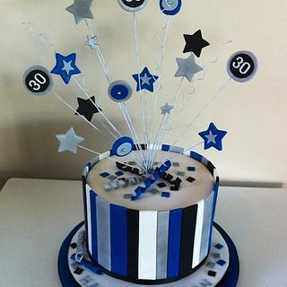 Celebration star burst