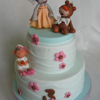 Cake for Nina - Cake by lamps