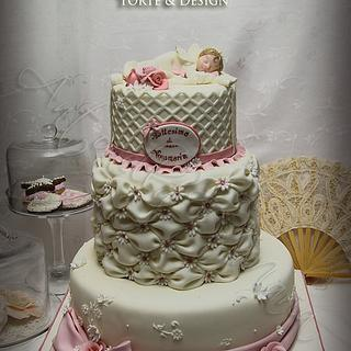 christening cake..... - Cake by Antonella Di Maria