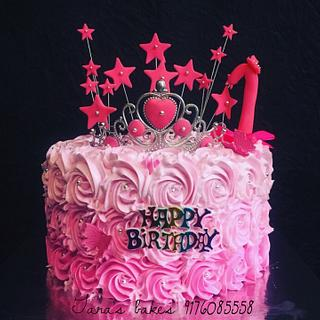 Pink beauty. - Cake by Tara