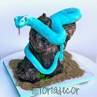 Snake cake - Cake by Agnes Havan-tortadecor.hu