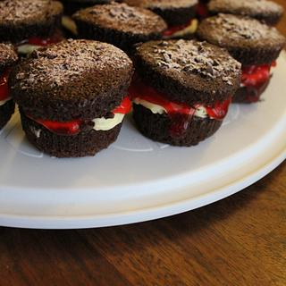 Black Forest Cupcakes - Cake by Suman
