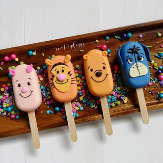 Pooh & Friends Cakesicles