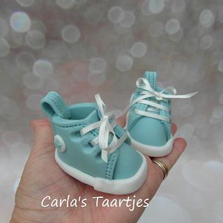 little baby sneakers