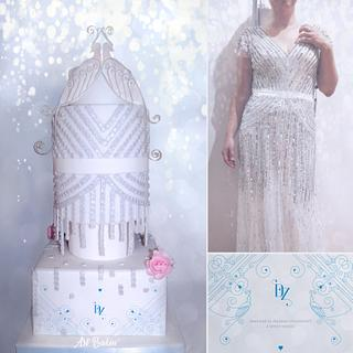 Wedding Dress VS Cake