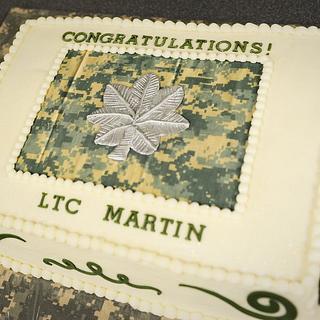 Lieutenant Colonel Promotion Cake! - Cake by Jacque McLean - Major Cakes