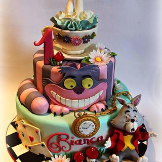 Alice in Wonderland - Cake by Sabrina Di Clemente