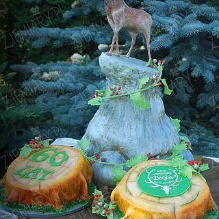 hunter cake - Cake by Anna Krawczyk-Mechocka