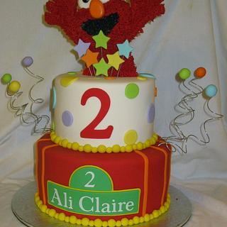 Elmo - Cake by DoobieAlexander