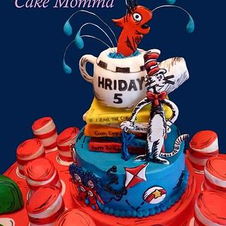 Dr. Suess - Cake by cakemomma1979