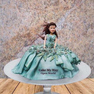 Doll Cake - Cake by Priyanka Neeru Tibrewal